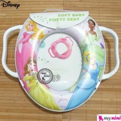 تبدیل توالت فرنگی کودک سیندرلا Disney soft baby potty seat