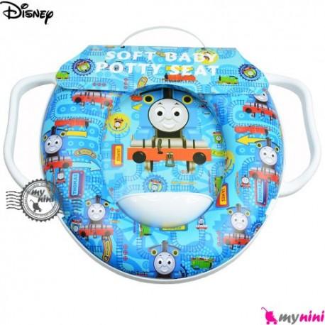 تبدیل توالت فرنگی کودک قطار Disney soft baby potty seat
