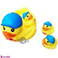پوپت حمام اردک کلاه دار 4 عددی 4PCS Duck bath toys