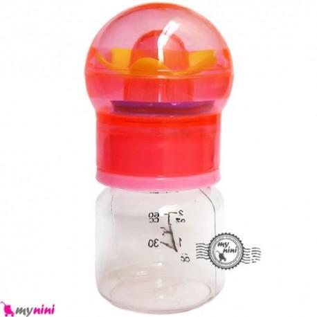 قندداغ خوری نوزاد و کودک جغجغه ای baby small feeding bottle