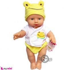 عروسک نوزاد ترانه خوان زرد 30 سانتی Baby musical doll