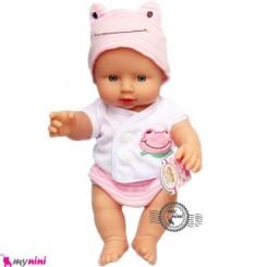 عروسک نوزاد ترانه خوان صورتی 30 سانتی Baby musical doll