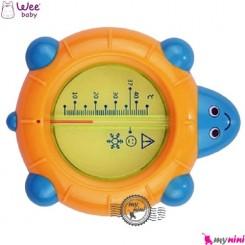 دماسنج وی اتاق و وان نوزاد و کودک لاکپشت Wee Baby bath thermometer turtle