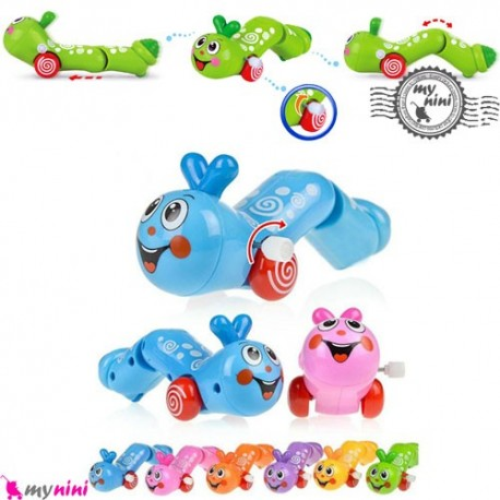 کِرم کوکی اسباب بازی نوزاد و کودک Smart Happy Worm