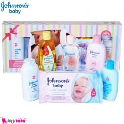 ست لوازم بهداشتی 6 عددی نوزاد و کودک جانسون Johnson's Baby Gift