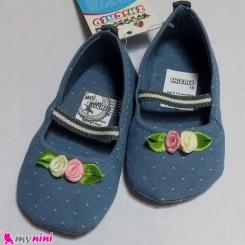 کفش دخترانه لی آبی Baby shoes