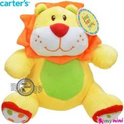 عروسک موزیکال نخ کش شیر Carter's musical plush toys