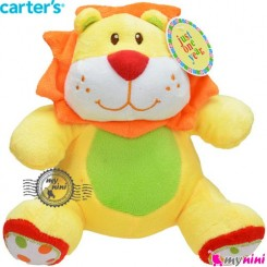 عروسک موزیکال نخ کش شیر کارترز Carter's musical plush toys