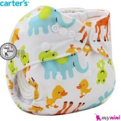 شورت آموزشی 3 لایه زرافه نارنجی کارترز Carters reusable diaper