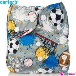 شورت آموزشی کارترز 3 لایه توپ Carters reusable diaper