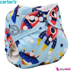 شورت آموزشی کارترز 3 لایه سفینه Carters reusable diaper