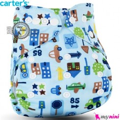 شورت آموزشی 3 لایه آبی ماشین کارترز Carters reusable diaper