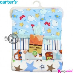 خشک کن کارترز دریایی Carters newborn blanket