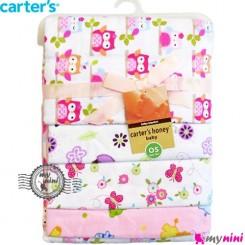 خشک کن کارترز نوزاد و کودک صورتی جغد Carters baby dryer textile