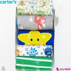 بادی رکابی کارترز 3 ماه Carter's sleeveless bodysuits