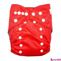 شورت آموزشی کودک قرمز سه لایه Baby Reusable Diaper