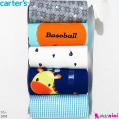 رکابی نوزاد کارترز زیردکمه دار 3 ماه Carter's sleeveless bodysuits