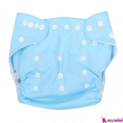 شورت آموزشی کودک آبی سه لایه Baby Reusable Diaper