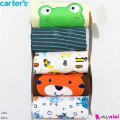 رکابی زیردکمه دار کارترز 24 ماه پنبه ای Carter's sleeveless bodysuits