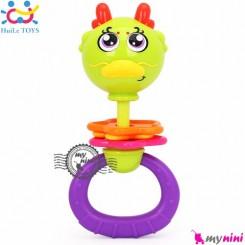 جغجغه نوزاد هویلی تویز اردک Huile toys zodiac rattles