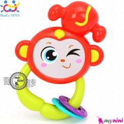 میمون هویلی تویز جغجغه ای Huile toys zodiac rattles