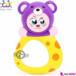 موش هویلی تویز جغجغه ای Huile toys zodiac rattles