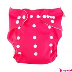 شورت آموزشی 3 لایه سرخابی Baby Reusable Diaper