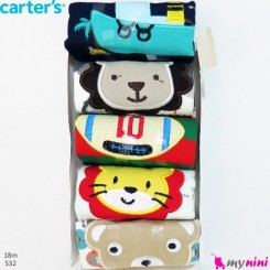 شلوار کارترز پنبه ای 18 ماه 5 عددی Carter's baby pants