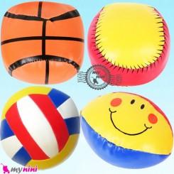 توپ اسفنجی چهار عددی سایز بزرگ نوزاد و کودک Soft ball toy