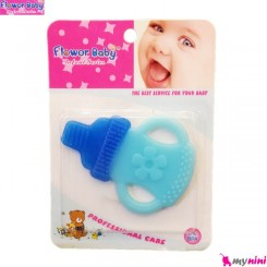 دندانگیر ژله ای نوزاد شیشه شیر آبی