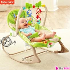 گهواره برقی فیشر پرایس سبز جنگل Fisher Price infant to todler
