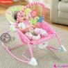 گهواره برقی فیشر پرایس صورتی گل Fisher Price infant to todler