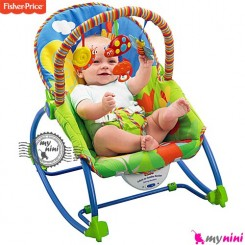 گهواره برقی موزیکال و صندلی کودک فیشر پرایس Fisher Price infant to todler