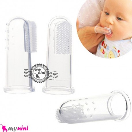مسواک انگشتی نوزاد و کودک Muai baby toothbrush