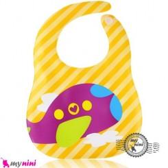 پیشبند ضد لک نوزاد و کودک هواپیما Baby cartoon waterproof bibs
