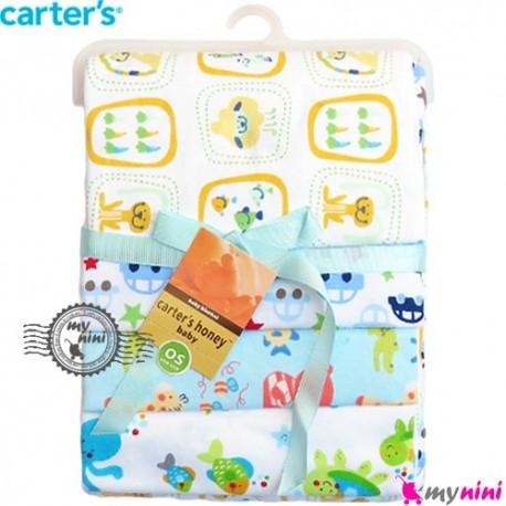 خشک کن و روانداز 4 عددی جغد کارترز Carter's blanket