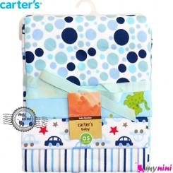 خشک کن بچه و روانداز 4 عددی میمون کارترز Carter's blanket
