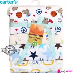 خشک کن کارترز صورتی توپ Carter's baby blanket