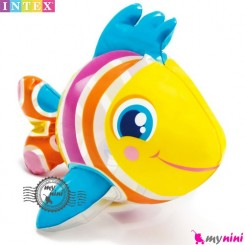 اسباب بازی حمام و استخر اینتکس ماهی رنگی Intex Puff n play
