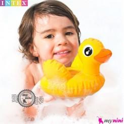 اسباب بازی حمام و استخر اینتکس اردک Intex Puff n play