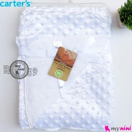 پتو کارترز حباب دو لایه سفید Carter's baby fleece blanket