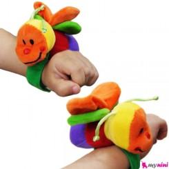 جغجغه مچی پولیشی نوزاد زنبور Wrist Rattle