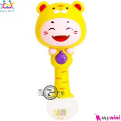 جغجغه موزیکال و چراغدار هویلی تویز ببر Huile Toys zodiac dynamic rhythm sticks