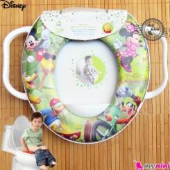 تبدیل توالت فرنگی کودک میکی موس Disney soft baby potty seat