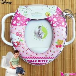 تبدیل توالت فرنگی کودک کیتی Disney soft baby potty seat