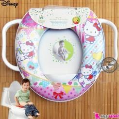 تبدیل توالت فرنگی کودک اسب و کیتی Disney soft baby potty seat