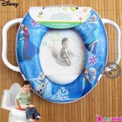 تبدیل توالت فرنگی کودک کارتون فروزِن Disney soft baby potty seat
