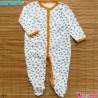 سرهمی کارترز پنبه ای گل و پرنده 12 ماه Carter's baby bodysuit
