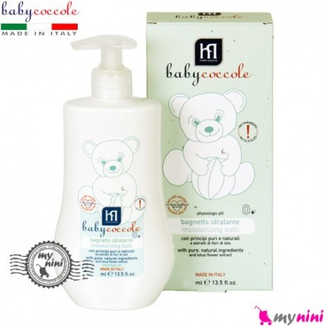 شامپو بدن مرطوب کننده بی بی کوکول ایتالیا Babycoccole moisturizing bath