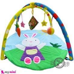 تشک بازی پولیشی خرگوش rabbit baby play gym